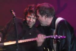 Kasim Sulton and Meat Loaf at the Amphitheater, Gelsenkirchen, Germany - 07/19/08