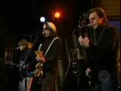 Kasim Sulton, Elliot Easton and Todd Rundgren on The Late Late Show With Craig Ferguson on 27th March